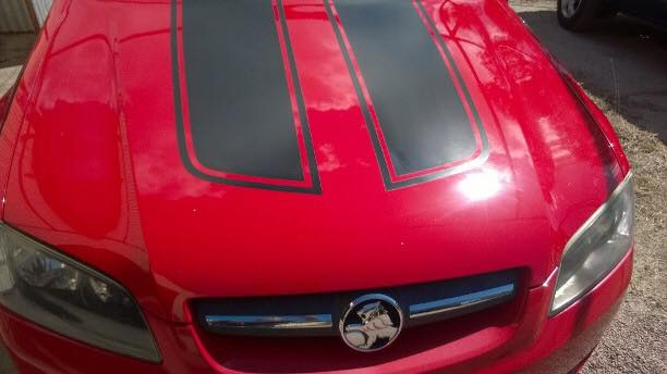 Automotive Detailing red